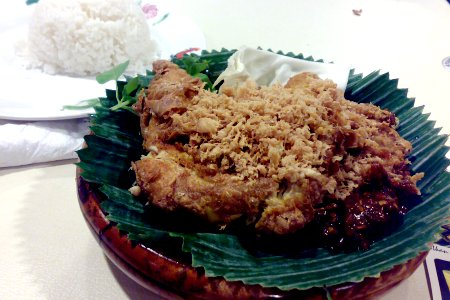 Ayam Penyet Ria - That Most Famous Shop at Lucky Plaza