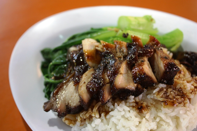 Black Pepper Char Siew Rice & Noodle - Spicy & Sumptuous