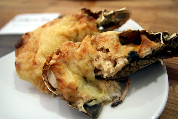 Cookyn Inc - Recipe of Grilled Slipper Lobster with Mornay Sauce