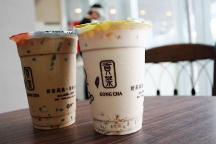 Gong Cha - HK 贡茶 vs SG 贡茶