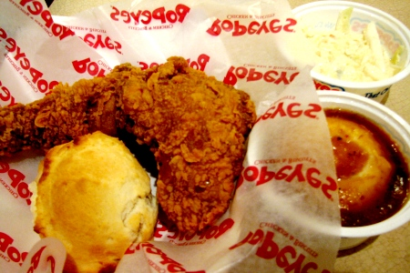 Popeyes Chicken & Biscuits - It's Not the Sailorman