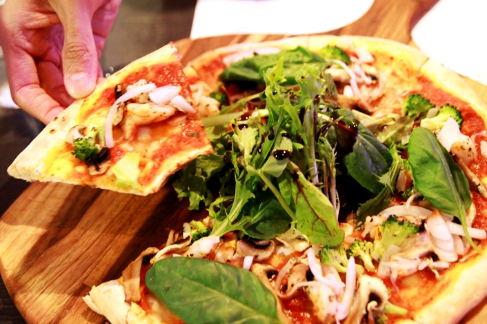 Verve Pizzeria – The 500 Calories Pizza