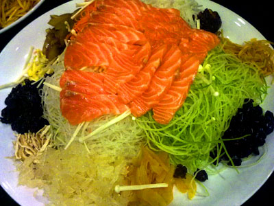 A Little Difference to Your YuSheng