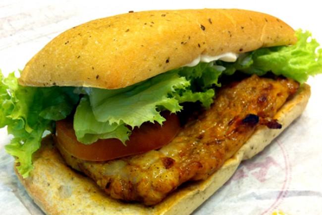 Burger King - Spicy Panini Tendergrill Chicken Sandwich