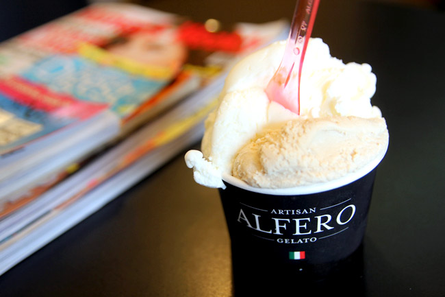 Alfero Gelato - Snow White Gelato Is The Fairest Of Them All