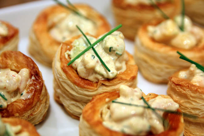 IKEA Swedcook Class – Cold Shrimp with Mayo in Vol-au-vent shells