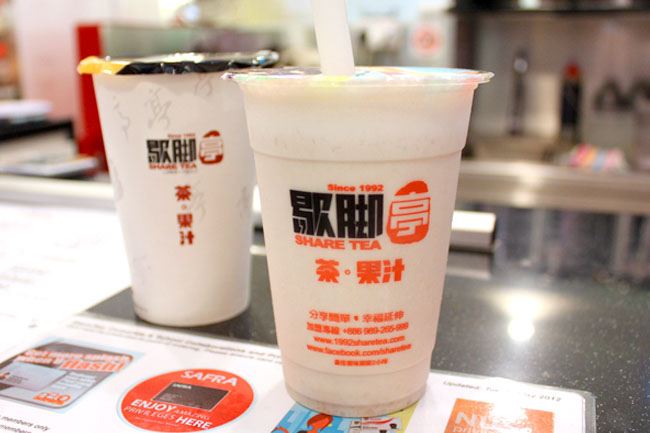 ShareTea - Launching 18 Hot Milk Teas