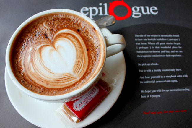 [Closed] Epilogue Café – When Popular Bookstore Opens a Café