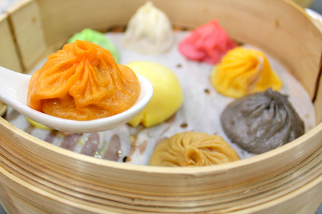 Crystal Jade Jiang Nan - Serving Multi-Coloured Xiao Long Bao & 'Not A Fried Rice'
