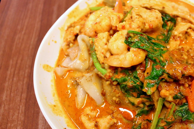 [Closed] Prosperous Kitchen - Zhi Char with Curry Horfun & Salted Egg Pork