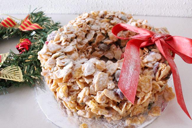 Christmas Cornflakes Festive Wreath from Da Paolo Gastronomia