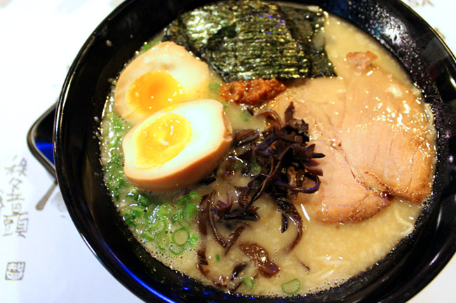 [Closed] Keishoken Ramen – White, Black, Red, Yellow, and Orange Ramen!