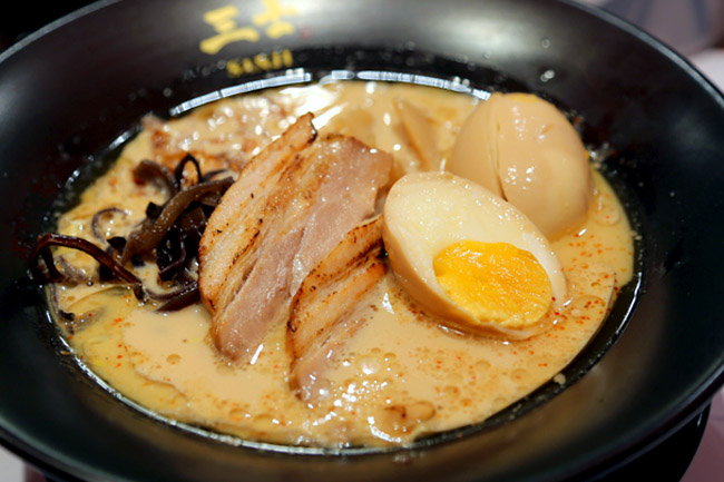Menya Sanji – Delicious Kagoshima Ramen at Orchid Hotel