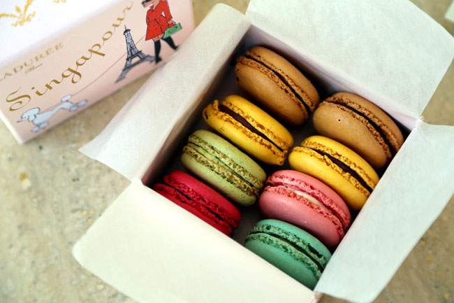 Ladurée Singapore – Famous Macaron Makers Arrives, and They Are Not Cheap