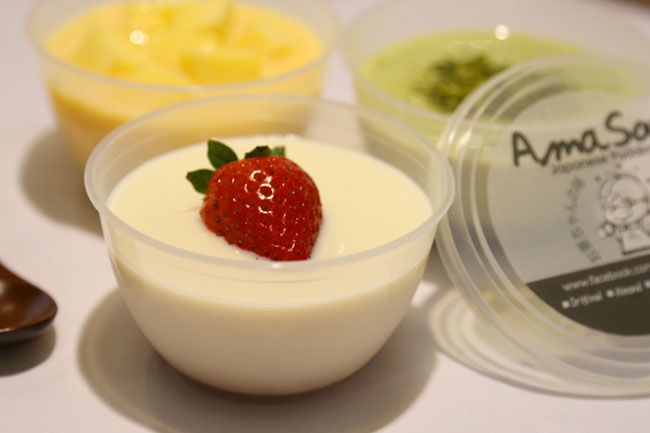 AmaSoy - Japanese Softserve, Collagen Puddings & Hokkaido Milk Drinks