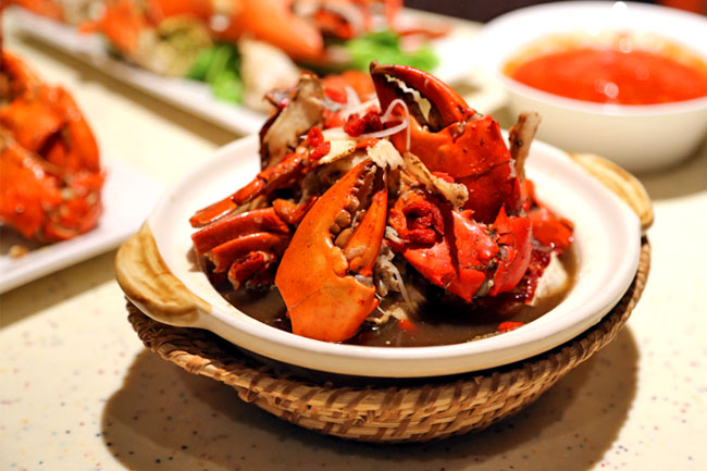 Plaza Brasserie – Holy Crab, The Crab Buffet Is Back