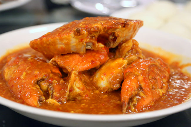 Red House Seafood - Sweet Tangy Chilli Crab at Prinsep Street