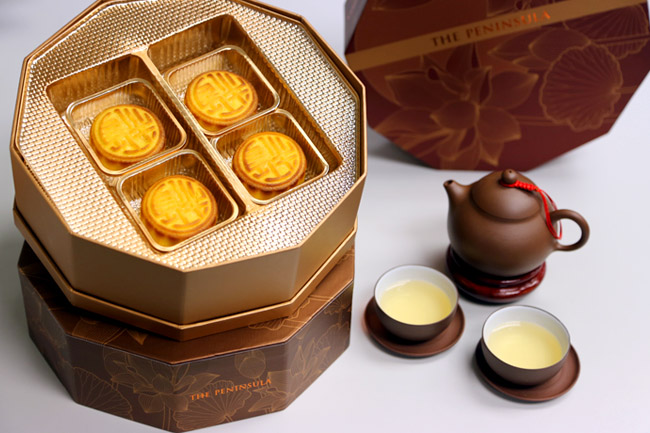 The Peninsula Mooncakes - Available In Singapore at The Peninsula Boutique