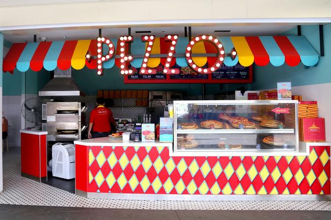 hjem laga pitza