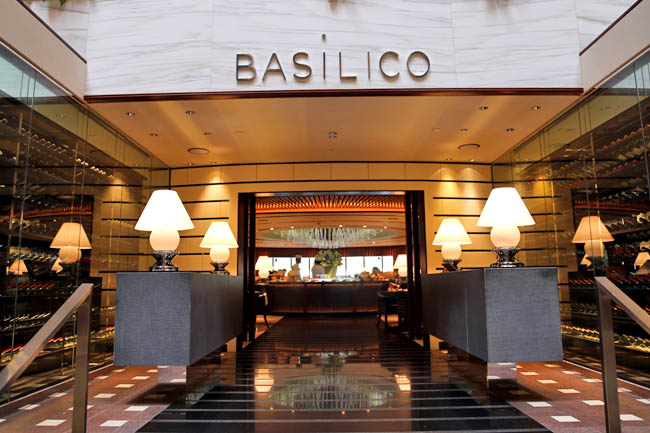 Basilico Restaurant Singapore Review