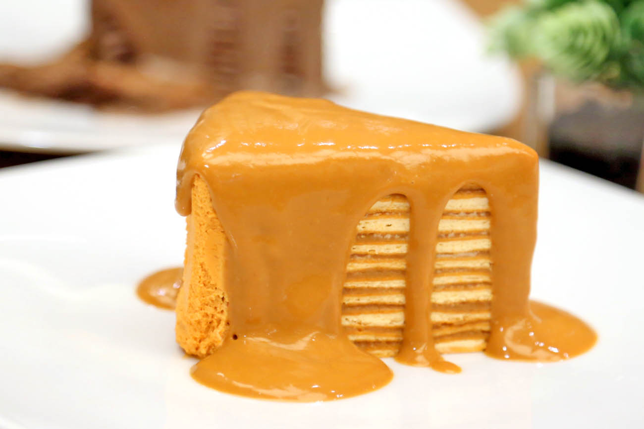 Petite Audrey – Gorgeous Thai Tea & Milo Crepe Cakes at Siam Center
