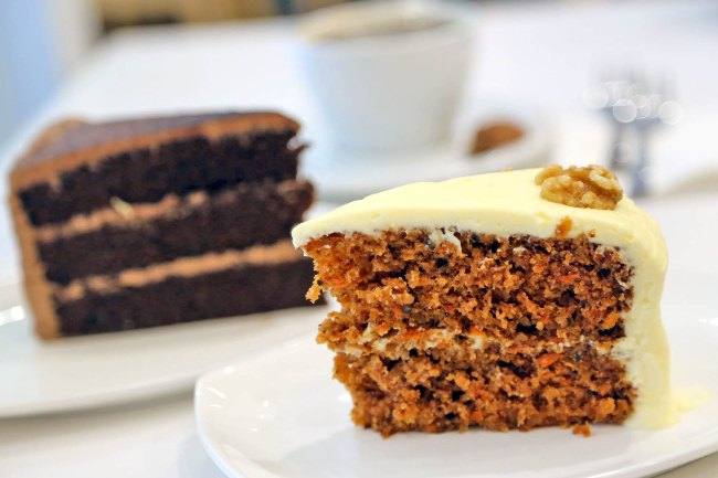 Lynn S Cakes Coffee Serving One Of The Best Carrot Cake