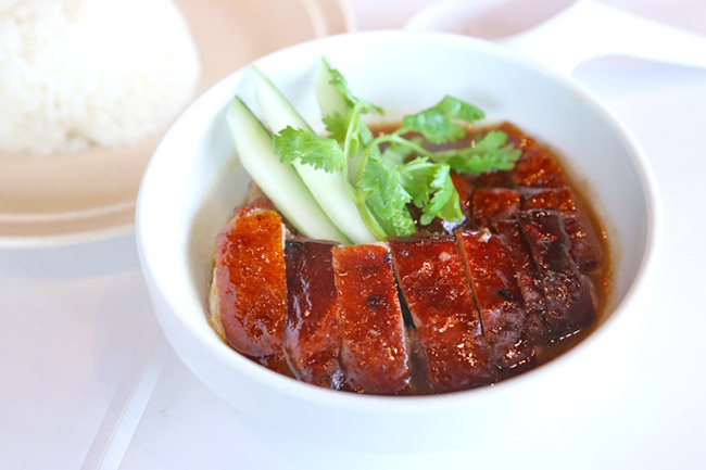 Dian Xiao Er - Signature Herbal Roast Duck & Other Dishes at about 500 Calories