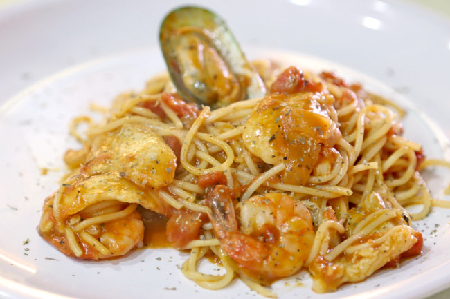 Char Grill Bar – Is There Such A Thing As Low Calorie Pasta?