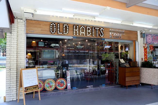 Image result for old habits cafe singapore