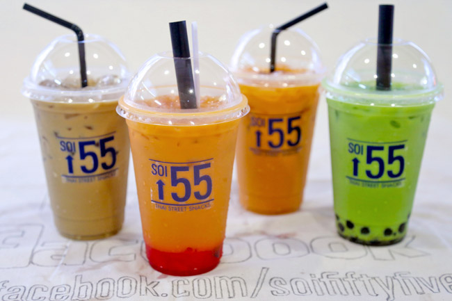 [Moved] Soi 55 – Thai Iced Tea Specialty Stall at Golden Shoe (Now At One Shenton Way)