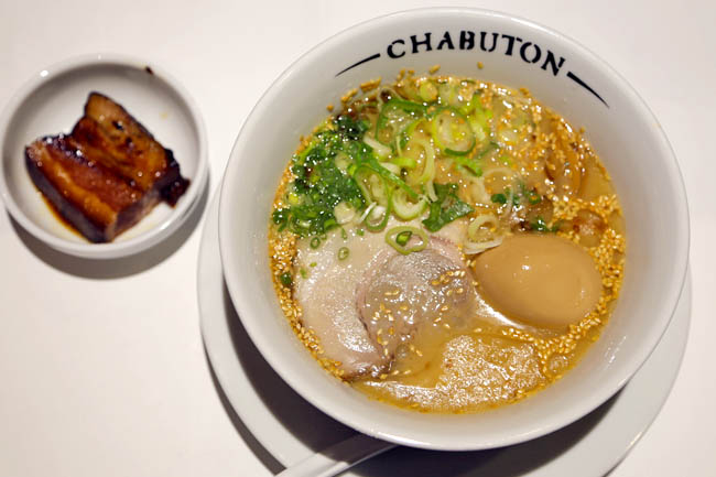 Chabuton - Ramen at 313 Somerset From The Michelin Chef