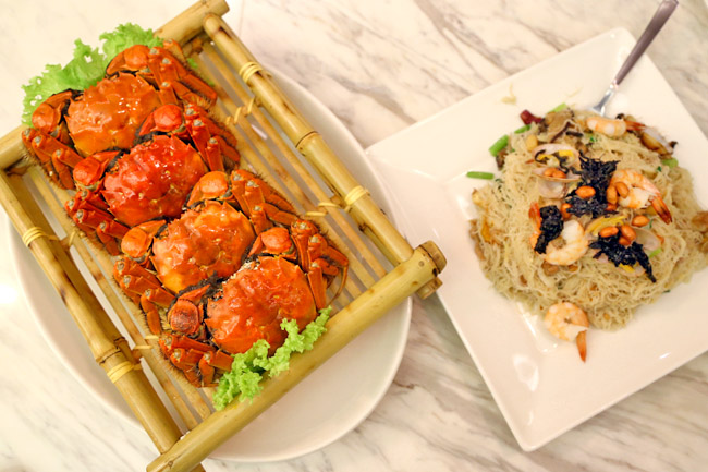 Putien – Autumn Hairy Crab Feasting. Promotions with DBS & POSB Cards!