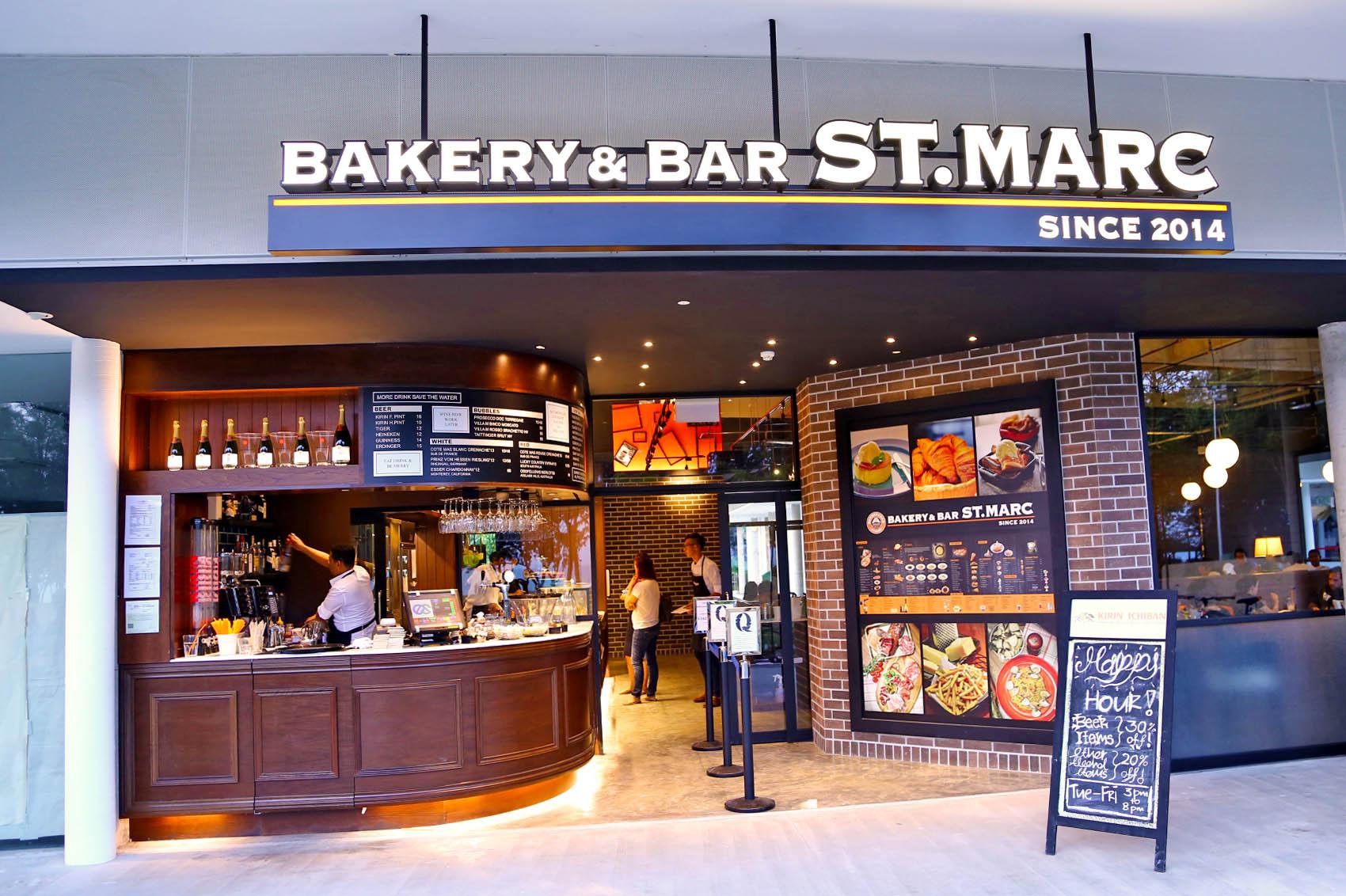 St Marc Cafe Singapore