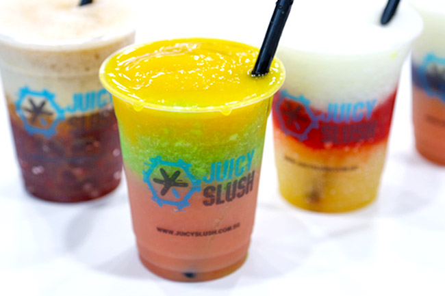 [Closed] Juicy Slush – Colourful Slushies Made From Juices & Tea. So Fun!
