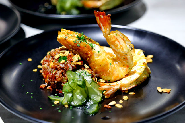 NUDE Seafood - NUtritious, DElicious Meals At MBFC