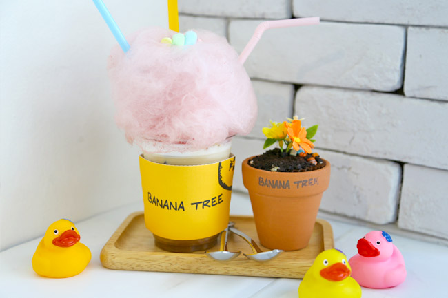 Banana Tree – Pretty Flowery Korean Café In Singapore