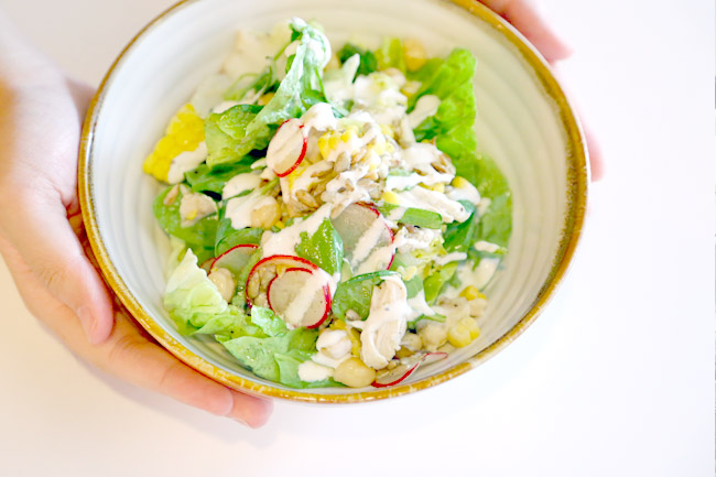 Skinny Salads - Asian Inspired Salads & Skinny Wraps