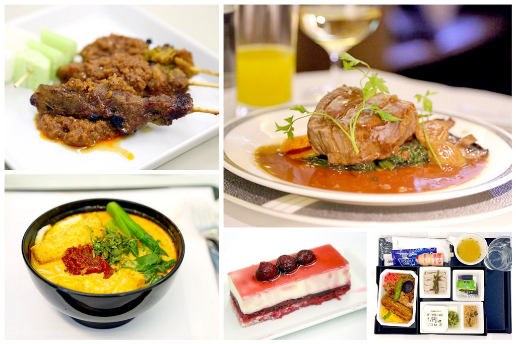 The World's Best Airline Food 2015 - For First Class, Business and Economy Class
