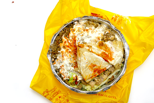 The Halal Guys - Food Truck Power. Chicken Over Rice and That Magical White Sauce