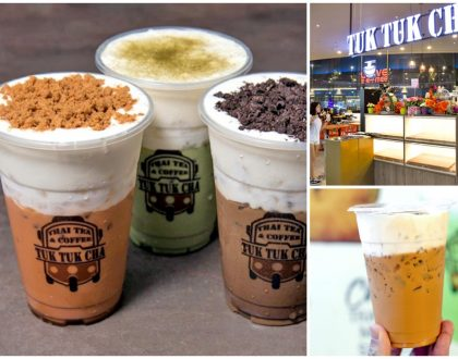 Tuk Tuk Cha  – Thai CHEESE Milk Tea Has Become A Reality. Available At Suntec City And All Other Branches