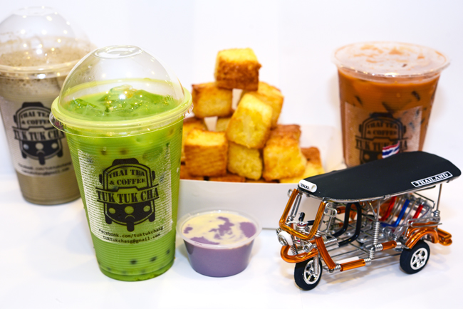 Tuk Tuk Cha  – Thai Iced Tea Made Its Way To Suntec City
