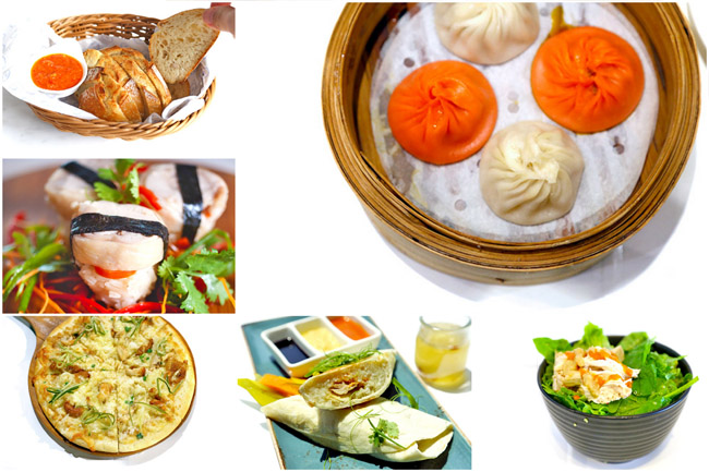 8 Hainanese Chicken Rice Based Food - Pizza, Salad, Bread, Xiao Long Bao, Sushi!