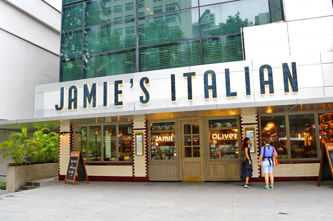 Jamie's Italian – 2nd Singapore Restaurant At Forum ...