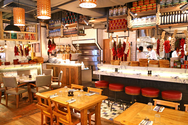 Jamie S Italian 2nd Singapore Restaurant At Forum Orchard Opens