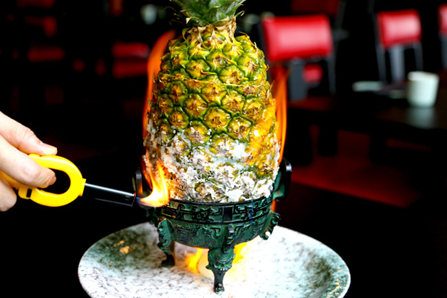 Lokkee - Burning Pineapple? TungLok's New Chinese Restaurant Sells Modern Fun Dishes