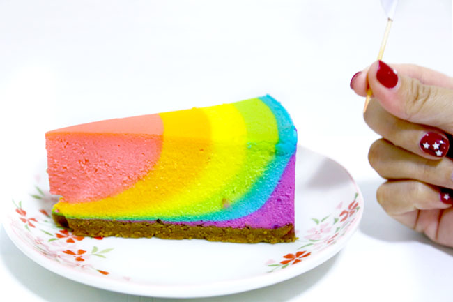 Rainbow Cottage Cafe - Pretty SG50 and Paddlepop Cheesecake At AMK