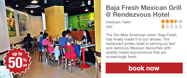 Baja Fresh Mexican Grill @ Rendezvous Hotel