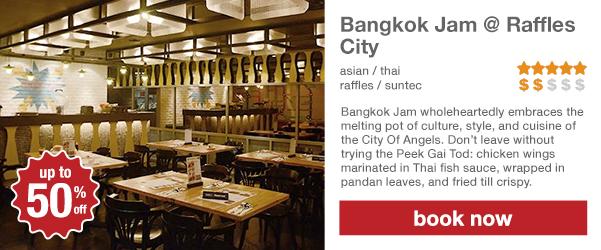 Bangkok Jam @ Raffles City