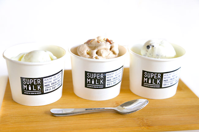 Supermilk – Artisan Ice Cream Café At Tai Seng