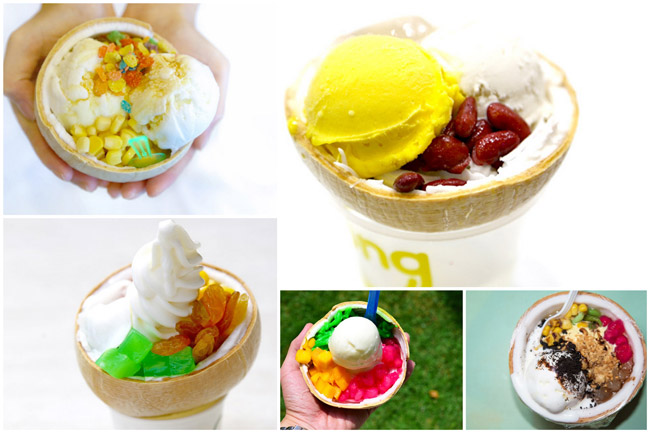 5 Thai Coconut Ice Creams In Singapore - Same Same But Different